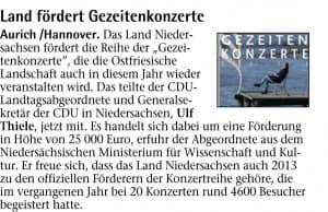 Emder Zeitung, Freitag, 11. Januar 2013, Seite 8