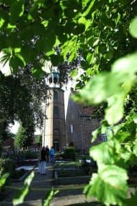 ev.-ref. Kirche Ditzum, Foto: Karlheinz Krämer