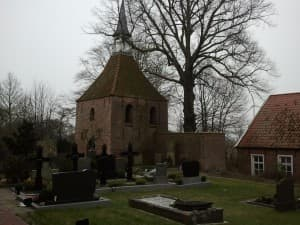 Glockenturm, Kirche Holtgaste, Foto: Wibke Heß