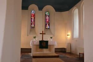 Chorraum, Kirche Holtgaste, Foto: Gert Ufkes