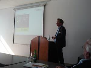 Dirk Lübben beim Best Practice-Erfahrungsbericht zum Ticketing der Gezeitenkonzerte
