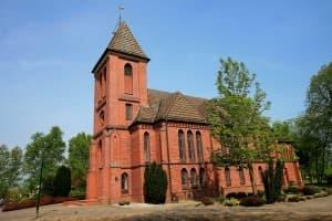 Ev.-luth. Kirche Zum guten Hirten Münkeboe, Foto: Karlheinz Krämer