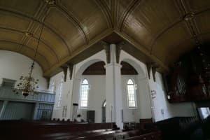 St. Georgskirche Weener, Innenansicht, Foto: Karlheinz Krämer