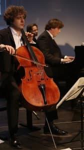 Julian Arp (Cello) und Caspar Frantz (Klavier), Foto: Karlheinz Krämer