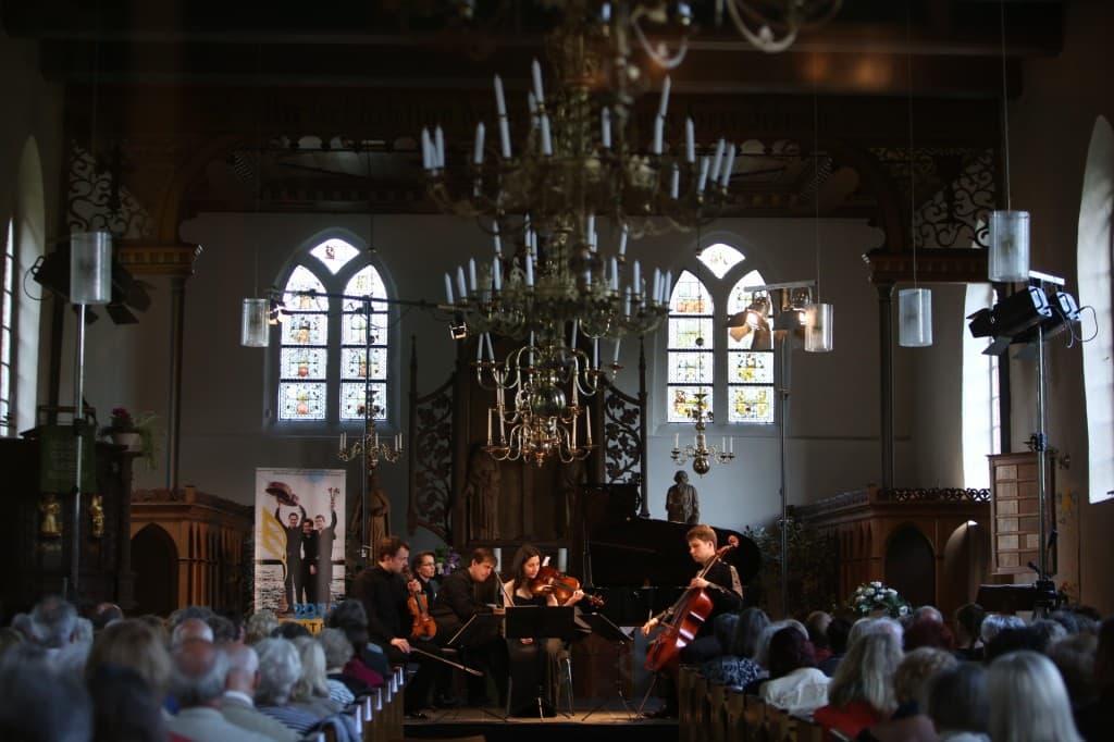 Mariani Klavierquartett, Foto: Karlheinz Krämer