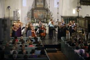 Ensemble Allegria beim Gezeitenkonzert in Horsten, Foto: Karlheinz Krämer