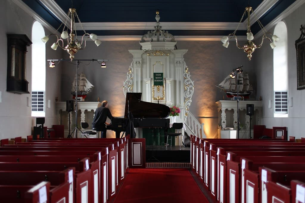 Kirche Carolinensiel, Innenansicht, Foto: Karlheinz Krämer