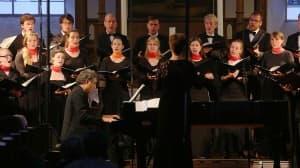 Vocalisti Rostochienses mit Matthias Kirschnereit, Foto: Karlheinz Krämer