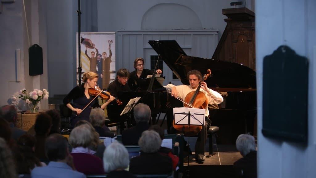 Mendelssohn Trio Berlin beim Gezeitenkonzert in Stapelmoor, Foto: Karlheinz Krämer