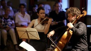 Liya Petrova und Pau Codina Masferrer, Foto: Karlheinz Krämer