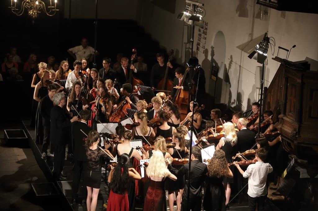 Haydn Jeugd Strijkorkest und Puchheimer Jugendkammerorchester, Foto: Karlheinz Krämer