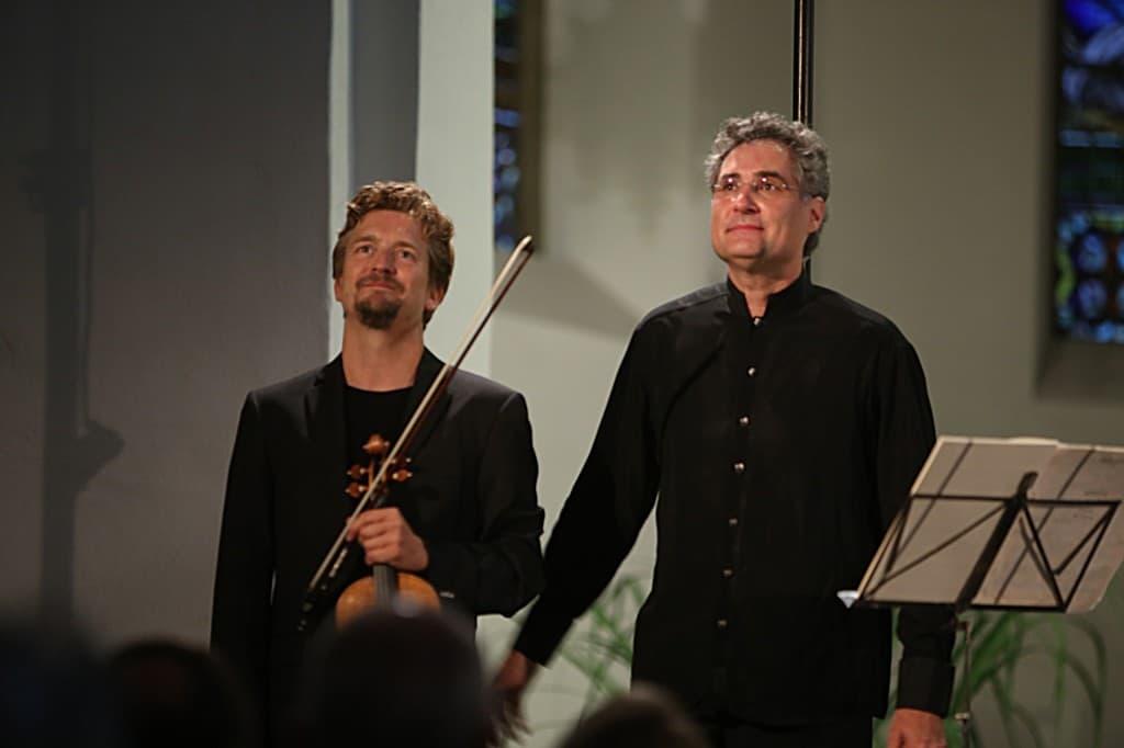 Christian Tetzlaff und Matthias Kirschnereit, Foto: Karlheinz Krämer