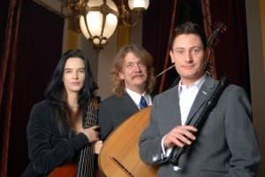 Barocktrio Hille Perl, Lee Santana und Maurice Steger, Foto: Anna Meuer