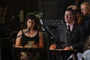 Annette Kristina Banse und Hans Christian Schmidt-Banse beim Concerto recitativo 2012, Foto: Karlheinz Krämer