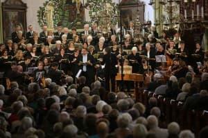 """Gezeitenkonzert mit Haydns """"Die Schöpfung"""" in der St.-Magnus-Kirche Esens, Foto: Karlheinz Krämer"""