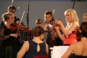 Tine Thing Helseth mit dem Ensemble Allegria, Foto: Karlheinz Krämer