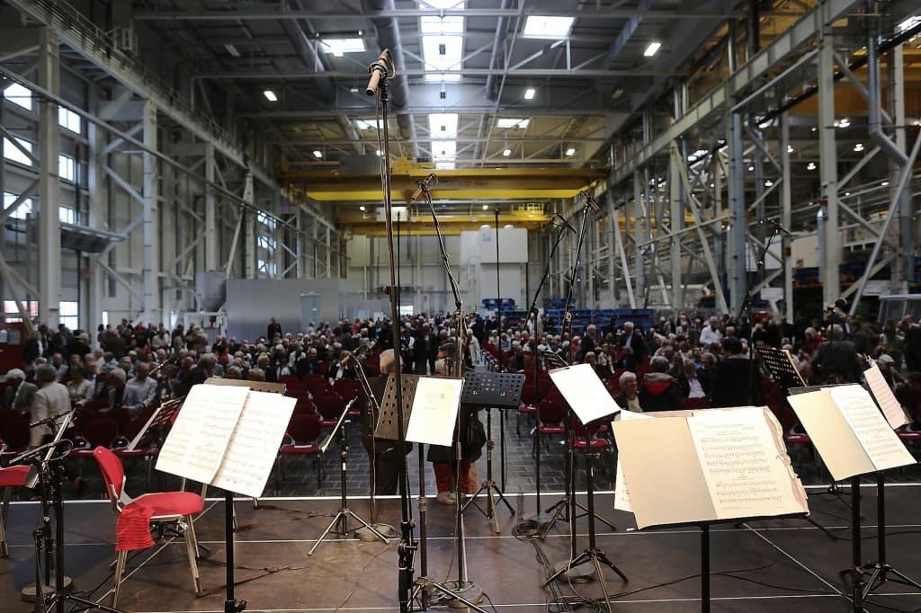Der Blick von der Bühne, Foto: Karlheinz Krämer