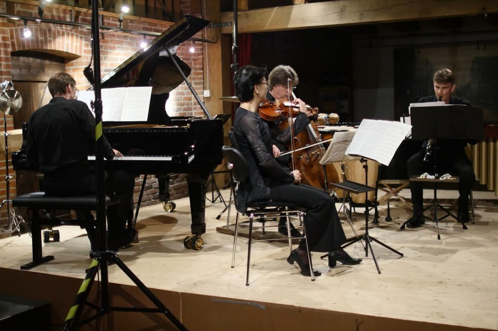 Ensemble Kaleidophonia, Foto: Karlheinz Krämer
