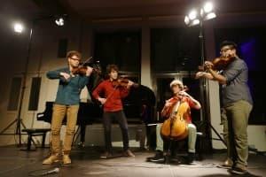 vision string quartet, Foto: Karlheinz Krämer