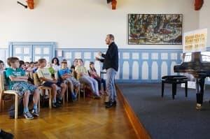 Rhapsody in School mit Lars Vogt im Rahmen der Gezeitenkonzerte, Foto: Karlheinz Krämer