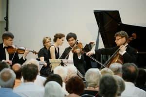 Das Notos Quartett bei den Gezeitenkonzerten, Foto: Karlheinz Krämer