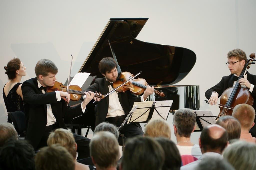 Notos Quartett, Foto: Karlheinz Krämer