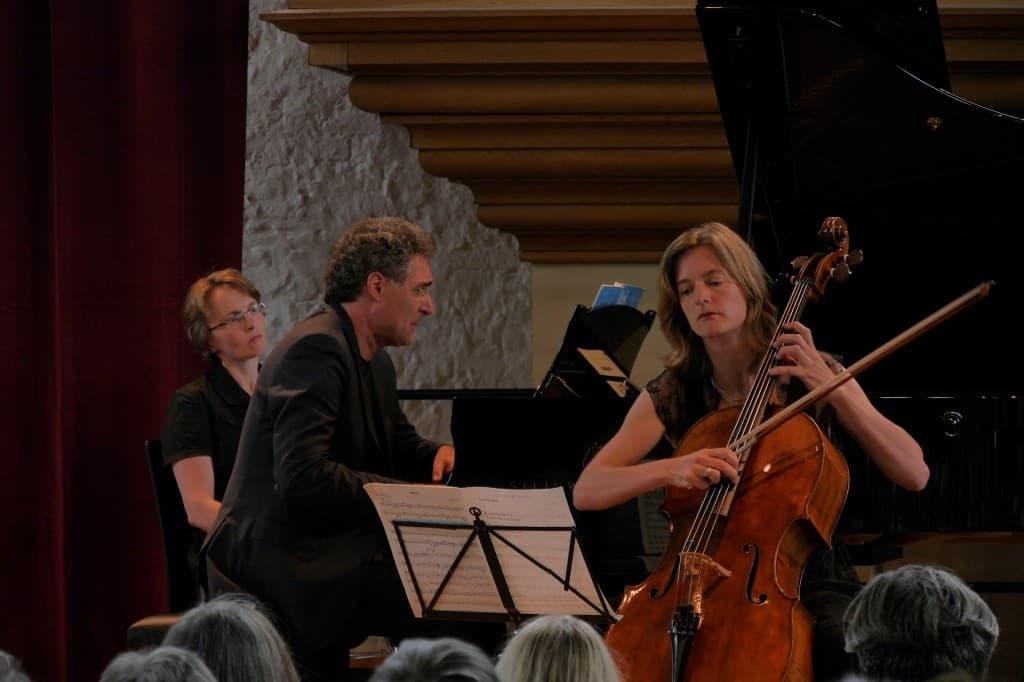 Matthias Kirschnereit und Tanja Tetzlaff, Foto: Karlheinz Krämer