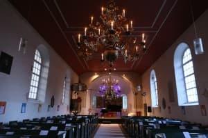 Innenansicht Kirche Backemoor, Foto: Karlheinz Krämer
