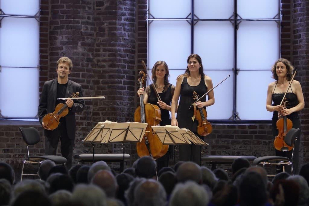 Christian und Tanja Tetzlaff, Elisabeth Kufferath und Hanna Weinmeister, Foto: Karlheinz Krämer