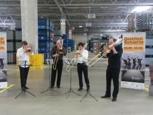1/2 Trombone Unit, Foto: Wibke Heß