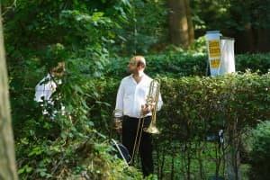 Tomer Maschkowski von der Trombone Unit, Foto: Karlheinz Krämer