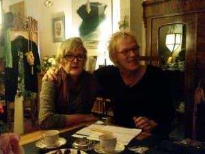 Beate Friemann (1. Vorsitzende der Freunde) und Ulrike Teusen