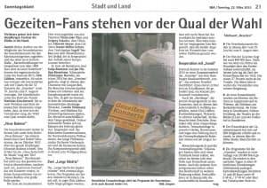 Sonntagsblatt, 22. März 2015, Seite 21