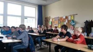 Aufmerksame SchülerInnen und angehende Schülermanager