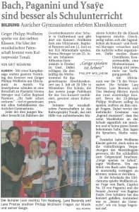 Ostfriesen-Zeitung, Samstag, 6. Juni 2015, Seite 21