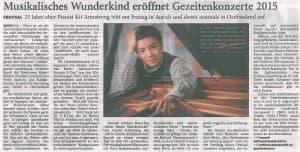 Anzeiger für Harlingerland | Jeversches Wochenblatt, Dienstag, 16. Juli 2015
