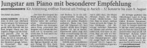 Nordwest-Zeitung, Montag, 15. Juni 2015, Seite 21