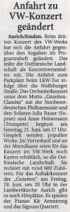 Ostfriesische Nachrichten, Freitag, 19. Juni 2015, Seite 5