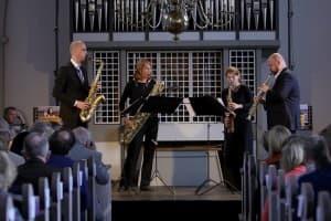 Clair-obscur Saxophonquartett, Foto: Karlheinz Krämer