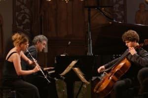 Nicola Jürgensen, Matthias Kirschnereit und Gabriel Schwabe, Foto: Karlheinz Krämer