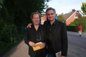 Stephan Storck und Matthias Kirschnereit nach einer geglückten Uraufführung, Foto: Karlheinz Krämer