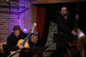 Christian Schulz (Gitarre) und Johannes Huth (Bass), Foto: Karlheinz Krämer