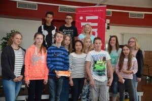 Das Team der Schülermanager; Foto: Reinhard Former