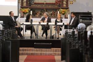Talkrunde beim Oll' Mai zum Thema Musikvermittlung, Foto: Karlheinz Krämer