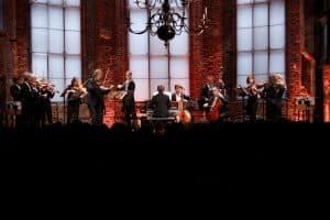Mendelssohn Kammerorchester Leipzig unter der Leitung von Andreas Mitschke mit Ingolf Turban (Violine), Foto: Karlheinz Krämer