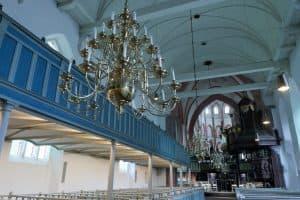 Innenansicht Kirchenschiff der Ludgerikirche Norden, Foto: Karlheinz Krämer