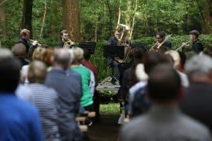 Ardenti Brass im Heseler Wald, Foto: Karlheinz Krämer