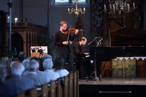 Duo Liepe (Niklas, Violine und Nils Liepe, Klavier), Foto: Karlheinz Krämer