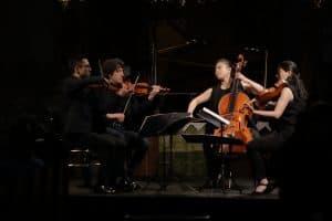 Quartet Berlin Tokyo, Foto: Karlheinz Krämer