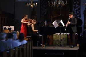 Seayoung Kim (Violine), Jihi Hwang (Klavier) und Nuri Gil (Klarinette), Foto: Karlheinz Krämer